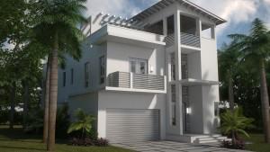 Propiedades residenciales en Miami, Florida.