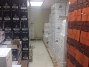 Distribuidor de Vinos (depósito)