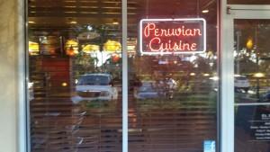Rentable Restaurante Peruano (exterior)