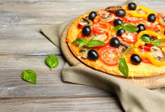 Conocida pizzería