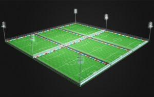 Centro de fútbol photo