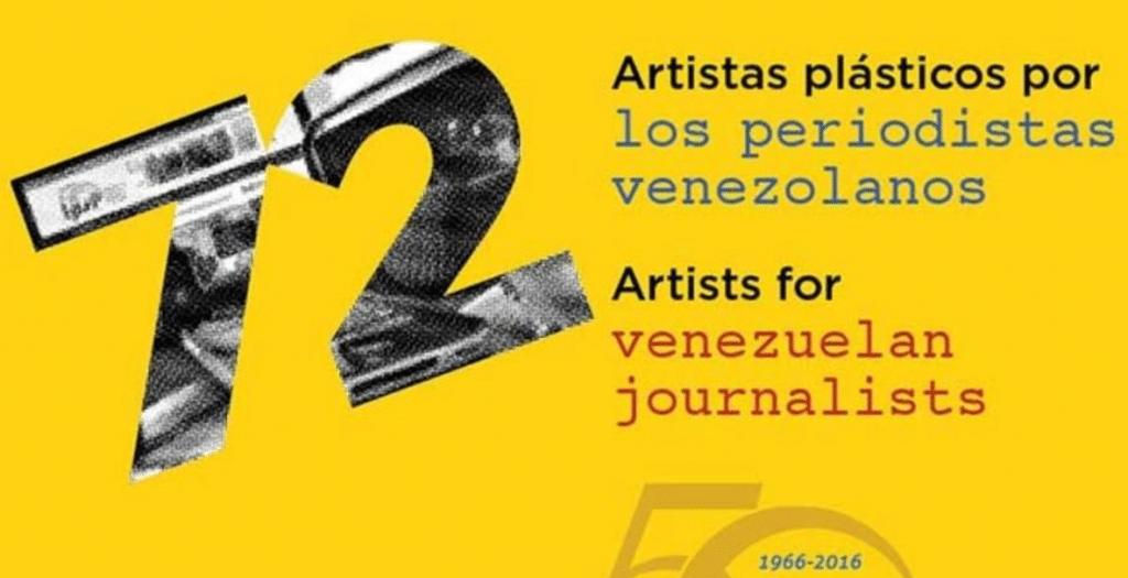 Llega a Miami exposición a beneficio de periodistas venezolanos