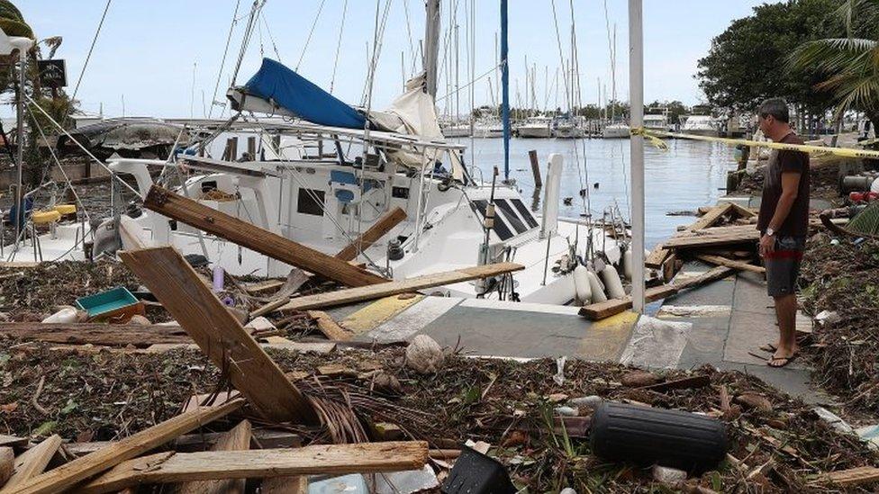 Huracán Irma ya ha cobrado la vida de 55 personas en su paso por el Caribe y EEUU