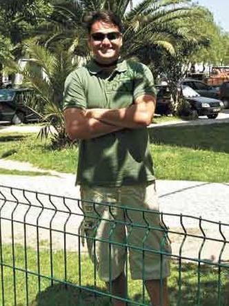 Wesley Carvalho esteve no Uruguai e Argentina e hoje vive em Portugal (foto: Wesley Carvalho/Arquivo pessoal)